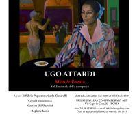 Locandina: UGO ATTARDI – Mito & Poesia