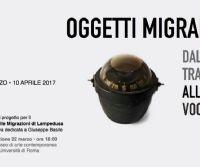 Locandina: Oggetti Migranti. Dalla Traccia alla Voce