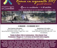 Locandina: Roma in acquerello