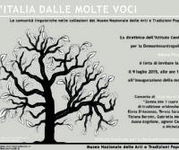 Locandina: L'Italia dalle molte voci