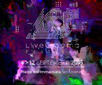 Locandina: Live Cinema Festival 2015