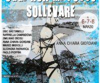 Locandina: Oggi non mi posso sollevare a Essenza Teatro