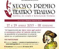 Locandina: Nuovo Premio Teatro Traiano