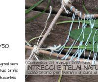 Locandina: Intrecci e telai naturali
