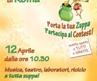 Locandina: VIII Festival Internazionale della Zuppa di Roma