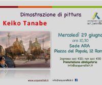 Locandina: Dimostrazione di pittura all'Associazione Romana Acquerellisti