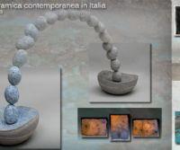 Locandina: Scultura ceramica contemporanea in Italia