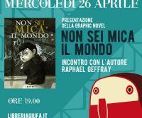 Locandina: Presentazione della GRAPHIC NOVEL