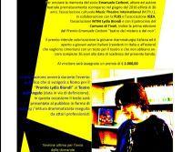 Locandina: Premio scrittura teatrale Emanuele Carboni