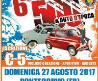 Locandina: Raduno di Fiat 500 e auto d'epoca