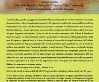 Locandina: Vasco Bendini Opere 2000-2013