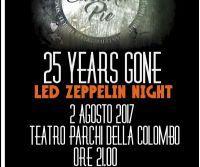 Locandina: Serata tributo ai Led Zeppelin