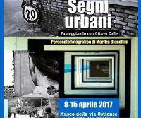 Locandina: Segni Urbani, passeggiando con Ottavo Colle