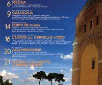 Locandina: Teatri di Pietra Lazio 2017