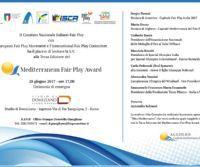 Locandina: Mediterranean Fair Play Award, terza edizione