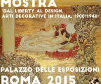 Locandina: Dal Liberty al Design. Arti decorative in Italia, 1900-1940