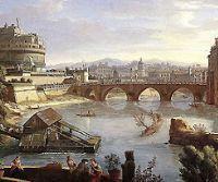 Locandina: Il Tevere, storia dell'Urbe attraverso il suo fiume