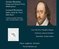 Locandina: Shakespeare in Musica