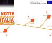 Locandina: X Edizione della Notte Europea dei Ricercatori