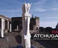 Locandina: Pablo Atchugarry, Città Eterna eterni marmi