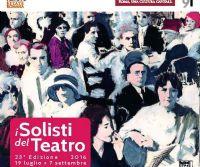 Locandina: I Solisti del Teatro 2016
