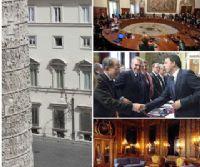Locandina: Palazzo Chigi e le sale della Presidenza del Consiglio