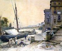 Locandina: Gli acquerelli di Roesler Franz