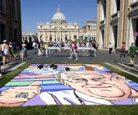 Locandina: Infiorata storica di Roma 2017, VII edizione