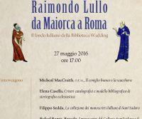 Locandina: Raimondo Lullo da Maiorca a Roma