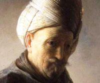 Locandina: Rembrandt in Vaticano. Immagini fra cielo e terra