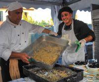Locandina: Sagra della Tellina al Borghetto dei pescatori di Ostia