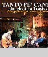 Locandina: Tanto pe' cantà dal Ghetto a Trastevere