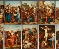 Locandina: Quattordici cantate brevi ispirate alla Via Crucis per voci e strumenti