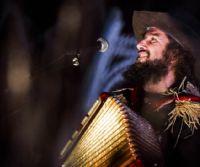 Locandina: Ombra. Canzoni della Cupa e altri spaventi. Tour teatrale 2017