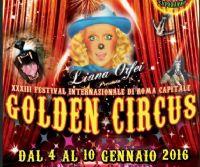 Locandina: Golden Circus Festival Internazionale di Roma Capitale