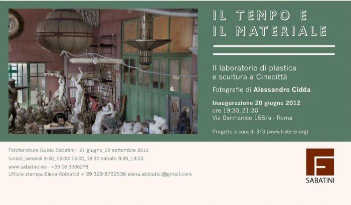 Il tempo e il materiale - Laboratorio di plastica e scultura a Cinecittà - 20 giugno, 29 settembre 2012