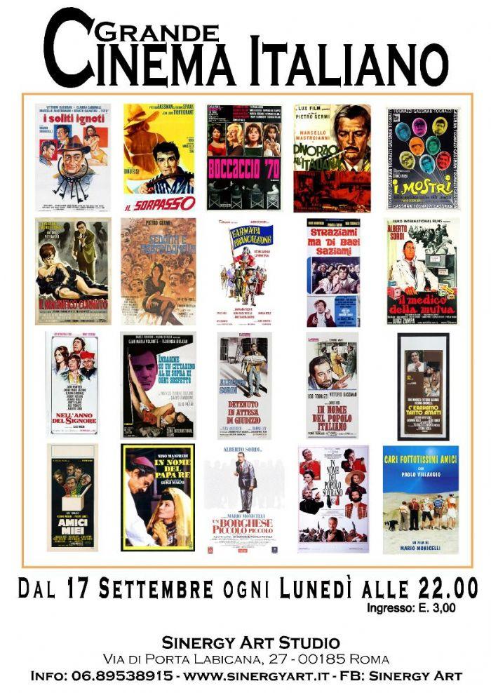 Rassegna Cinematografica GRANDE CINEMA ITALIANO