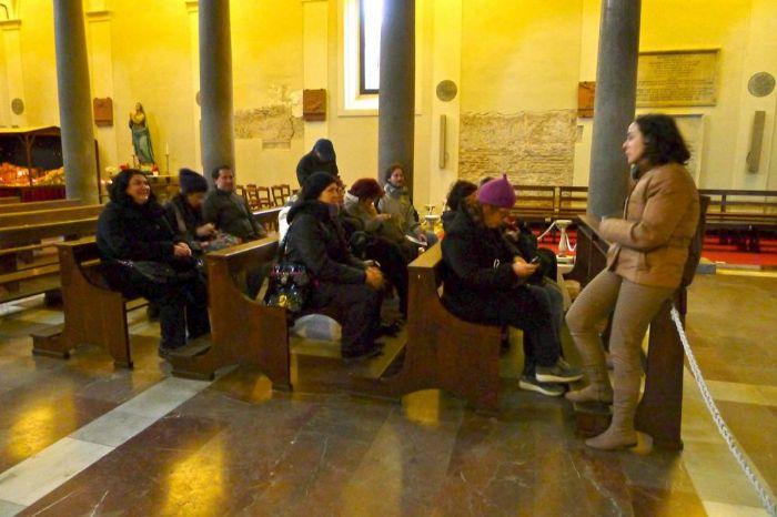 Corsi di archeologia e storia dell'arte itinerante a Roma: 2012-13