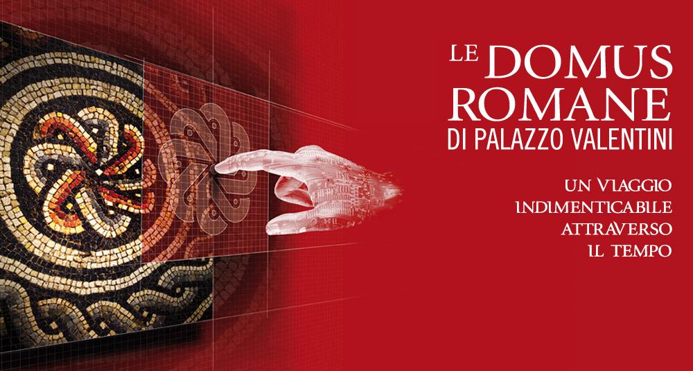Domus romane of palazzo valentini palazzo valentini for Domus book collection