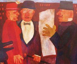 Locandina: Una mostra in ricordo dell'artista romano Franz Borghese