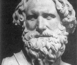 Locandina: Una mostra sulla figura dello scienziato e filosofo greco