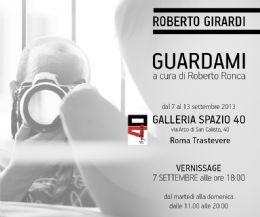 Locandina: Roberto Girardi ha fotografato il desiderio