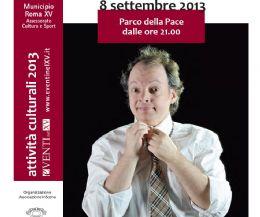 Locandina: Spettacolo gratuito domenica 8 settembre al Parco Papacci