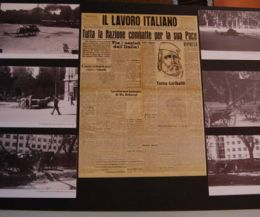 Locandina: Celebrazioni del 70° anniversario dell'8 settembre 1943. Mostra storica