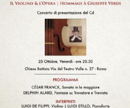 Locandina: Il Trìtono in Concerto per il Bicentenario Della Nascita di Giuseppe Verdi
