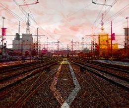 Locandina: Mostra collettiva alla Galleria Rossocinabro