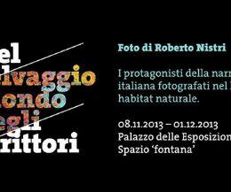 Locandina: I protagonisti della narrativa italiana fotografati nel loro habitat naturale di Roberto Nistri