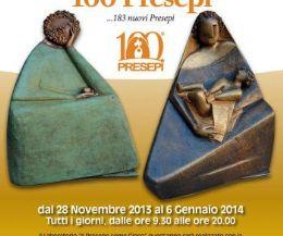 """Locandina: Rassegna d'arte presepiale giunta alla 38^ edizione ed organizzata dalla """"Rivista delle Nazioni"""""""