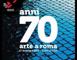 Locandina: L'esposizione presenta le opere di circa 80 autori italiani e internazionali, raccolte nel nome di un decennio e di una città