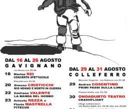 Locandina: Contemporanea Teatro 2014: in arrivo la V Edizione